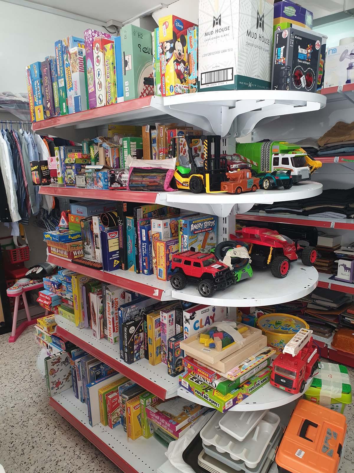 Toys Section at Dubai Center Souq