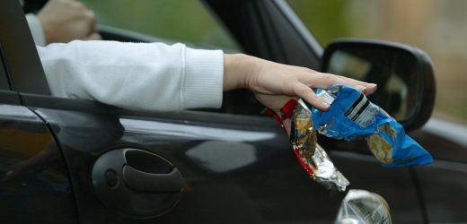 355 Drivers fined Dh1,000 for littering from Cars