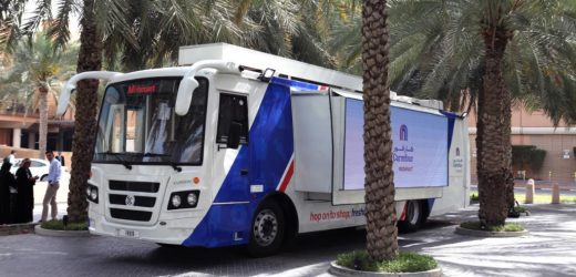 Carrefour launches Grocery Bus – Carrefour Mobimart in Dubai