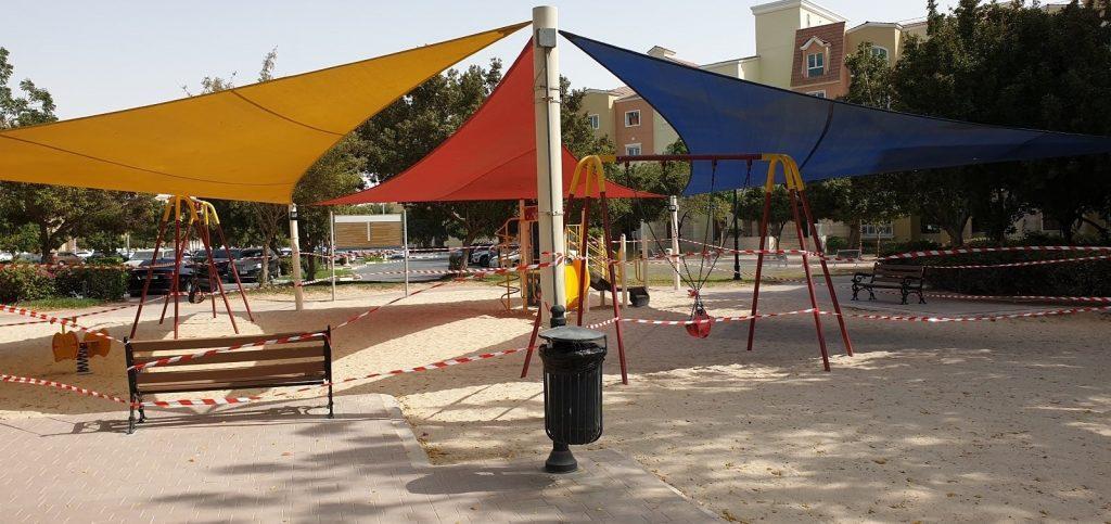 Discovery Gardens Street 3 Childrens Park Coronavirus shutdown