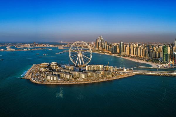 Bluewaters Island in Dubai
