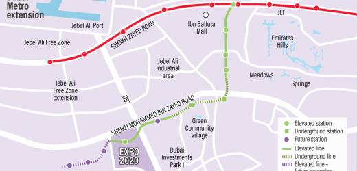 Dubai Metro Expo Line (Route 2020)