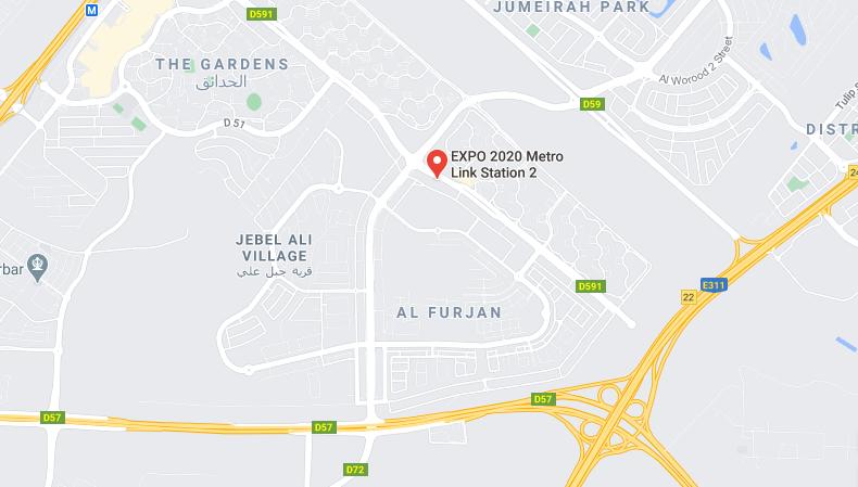 EXPO (Route) 2020 Metro Station