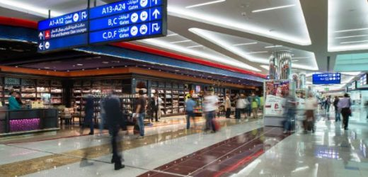 Airport Terminal 2 Departure Bus Stop in Dubai