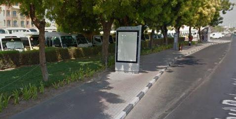 Abu Baker Al Siddique Road Bus Stop
