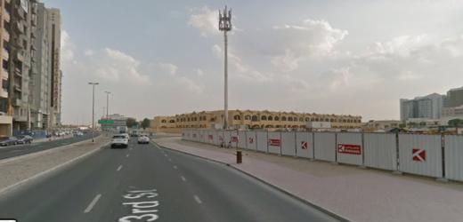 Al Barsha, Street 23, Noor Center for Training 1 Bus Stop in Dubai