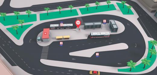 Deira City Centre Bus Station
