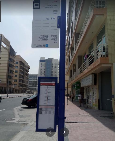 Al Barsha, Habtoor House Bus Stop in Dubai