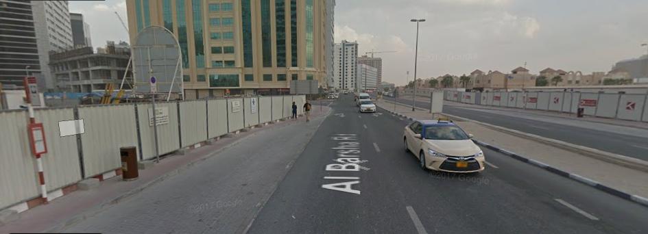 Al Barsha, Street 23, Dunes Hotel 2  Bus Stop in Dubai