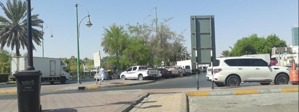 Al Ain Central Bus Station Bus Stop in Dubai