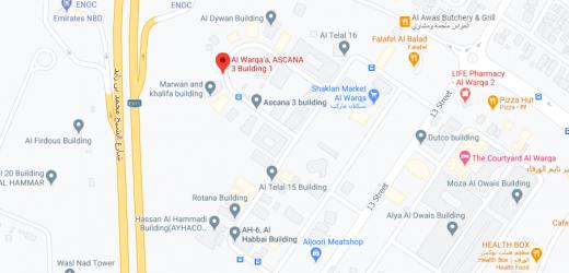 Al Warqa'a, ASCANA 3 Building Bus Stop in Dubai