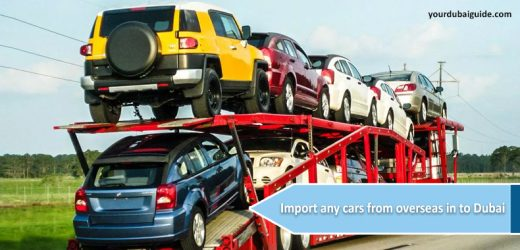 How to import any cars from overseas in to Dubai?
