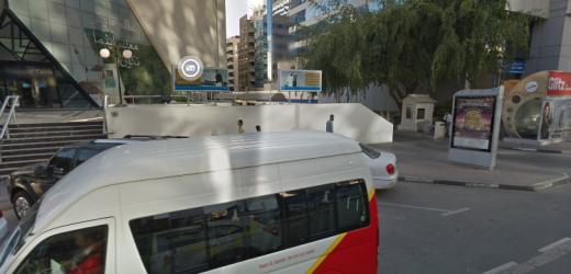 Bur Juman Metro Station A1 Bus Stop in Dubai