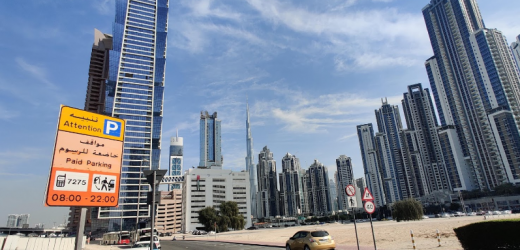 Business Bay Bus Stop in Dubai
