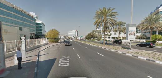Bustan Rotana Hotel 1 Bus Stop in Dubai