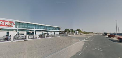 Byrne Equipment Rental  LLC Bus Stop in Dubai