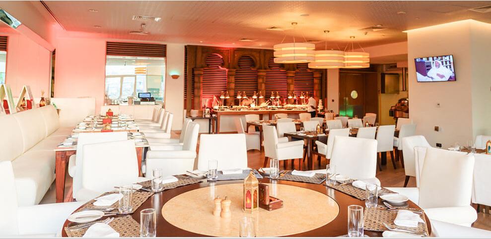 Raffles Hotel Dubai – Al Azur Restaurant Iftar 2021 offer