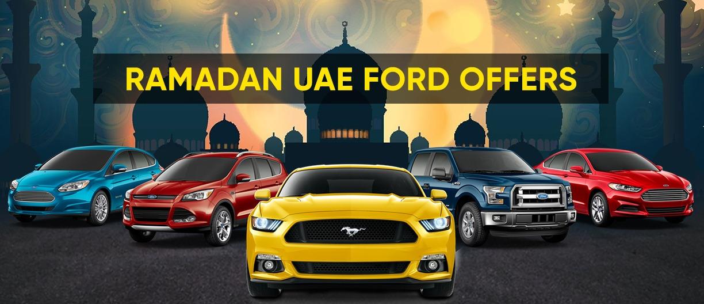 Ramadan 2021 UAE – Ford Car offers