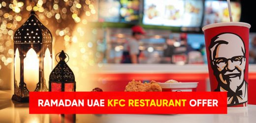 Ramadan 2021 UAE – KFC Restaurant offers