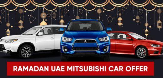 Ramadan 2021 UAE – Mitsubishi Car offers
