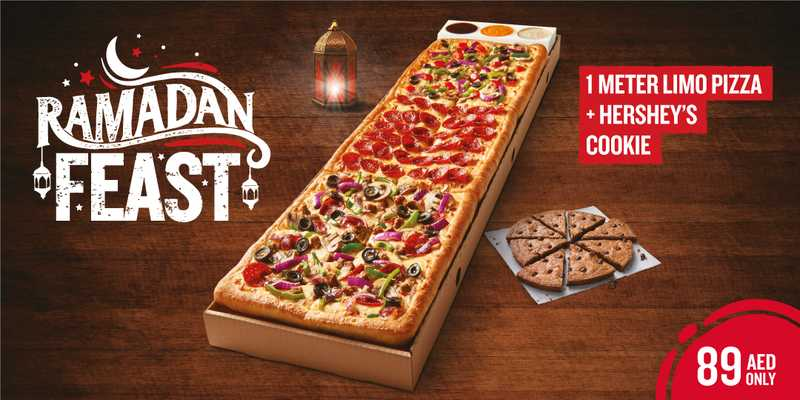 Ramadan 2021 UAE – Pizza Hut Restaurant offers