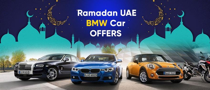Ramadan 2021 UAE – BMW Car offers