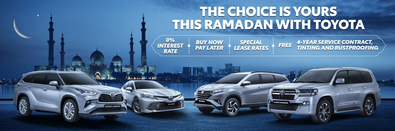 Ramadan 2021 UAE – Toyota Car offers