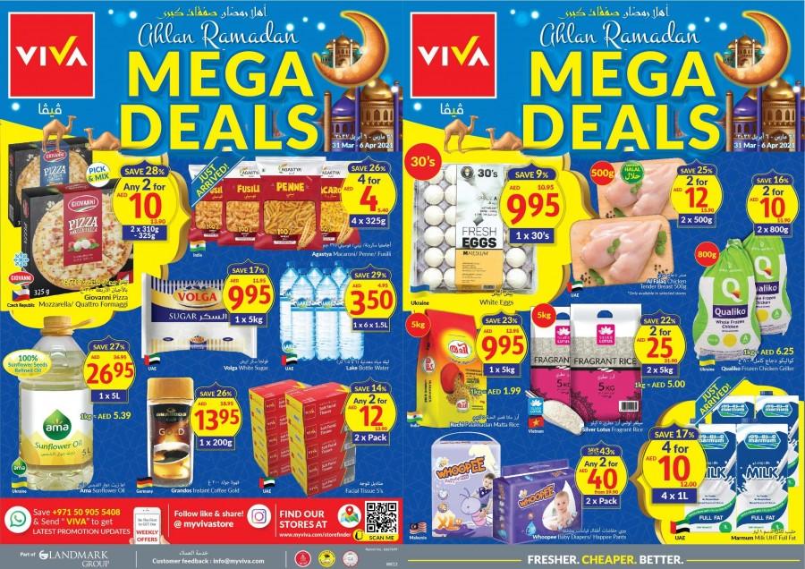 Ramadan 2021 UAE – Viva Supermarket Offers