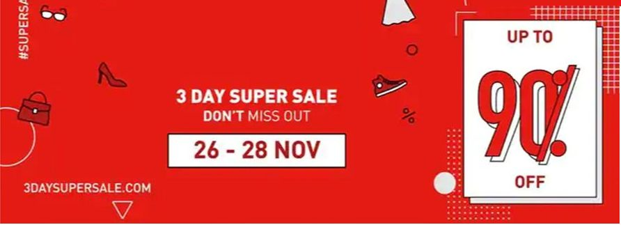 3DSS – Dubai's 3 Day Super Sale is back this week
