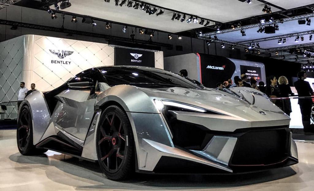 Dubai Mall - Shop and win this Fenyr SuperSport hypercar