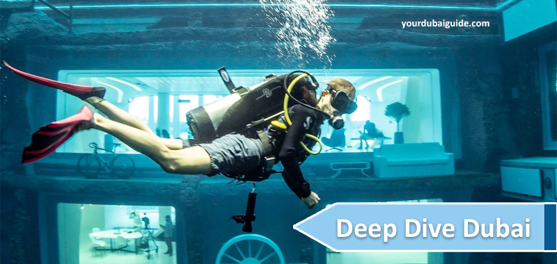 Deep Dive Dubai (Dubai's Deepest Swimming Pool) Location, Cost, Contact number