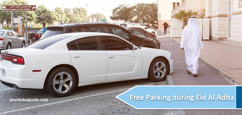 Free Parking during Eid Al Adha
