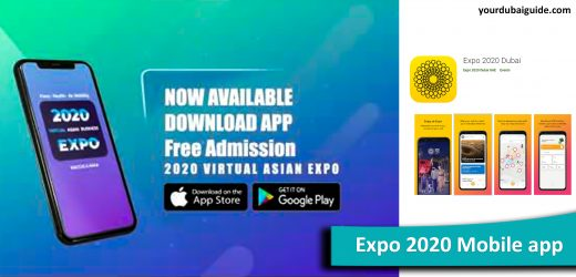 Expo 2020 Mobile app: How to download and use