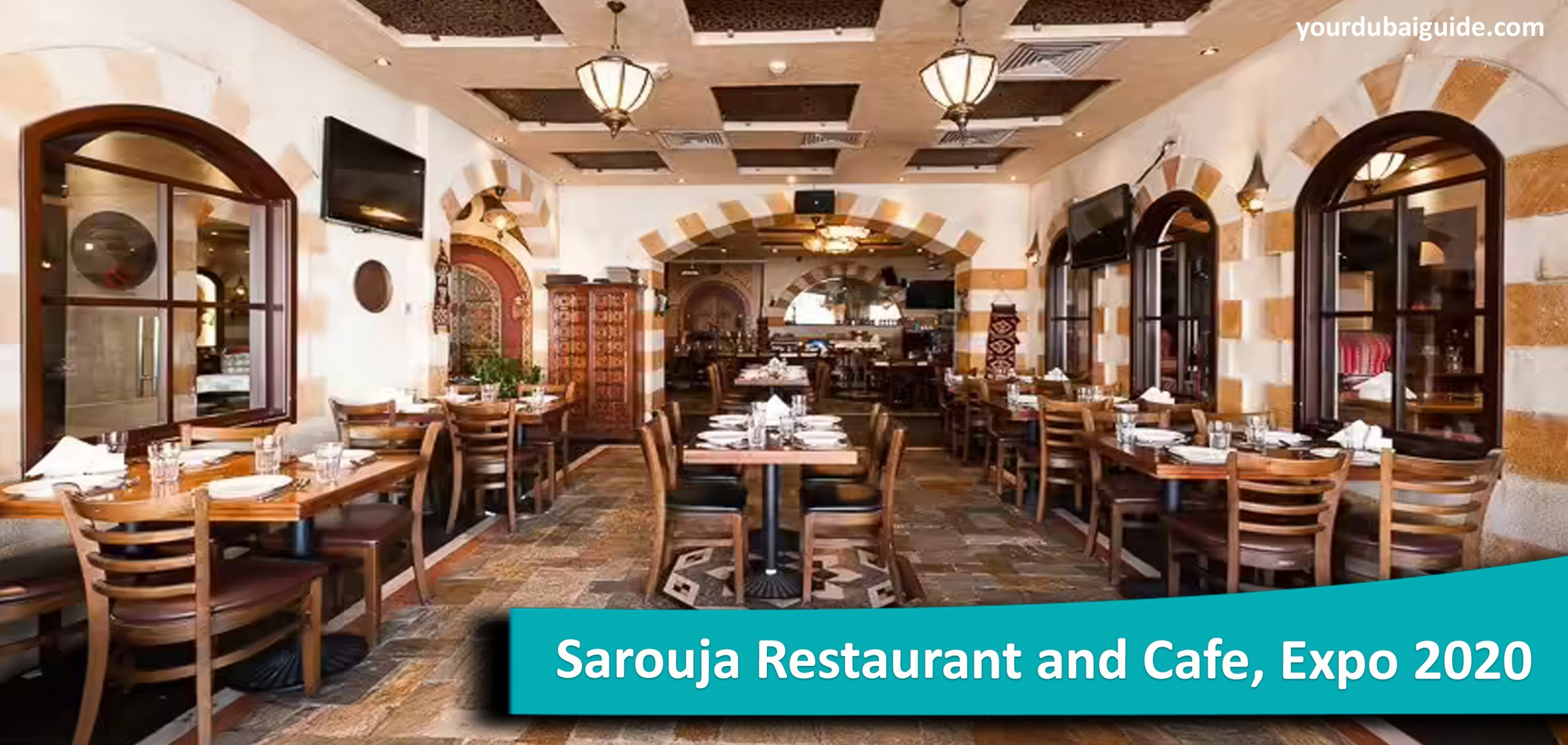 Sarouja Restaurant and Cafe at Expo 2020, Dubai