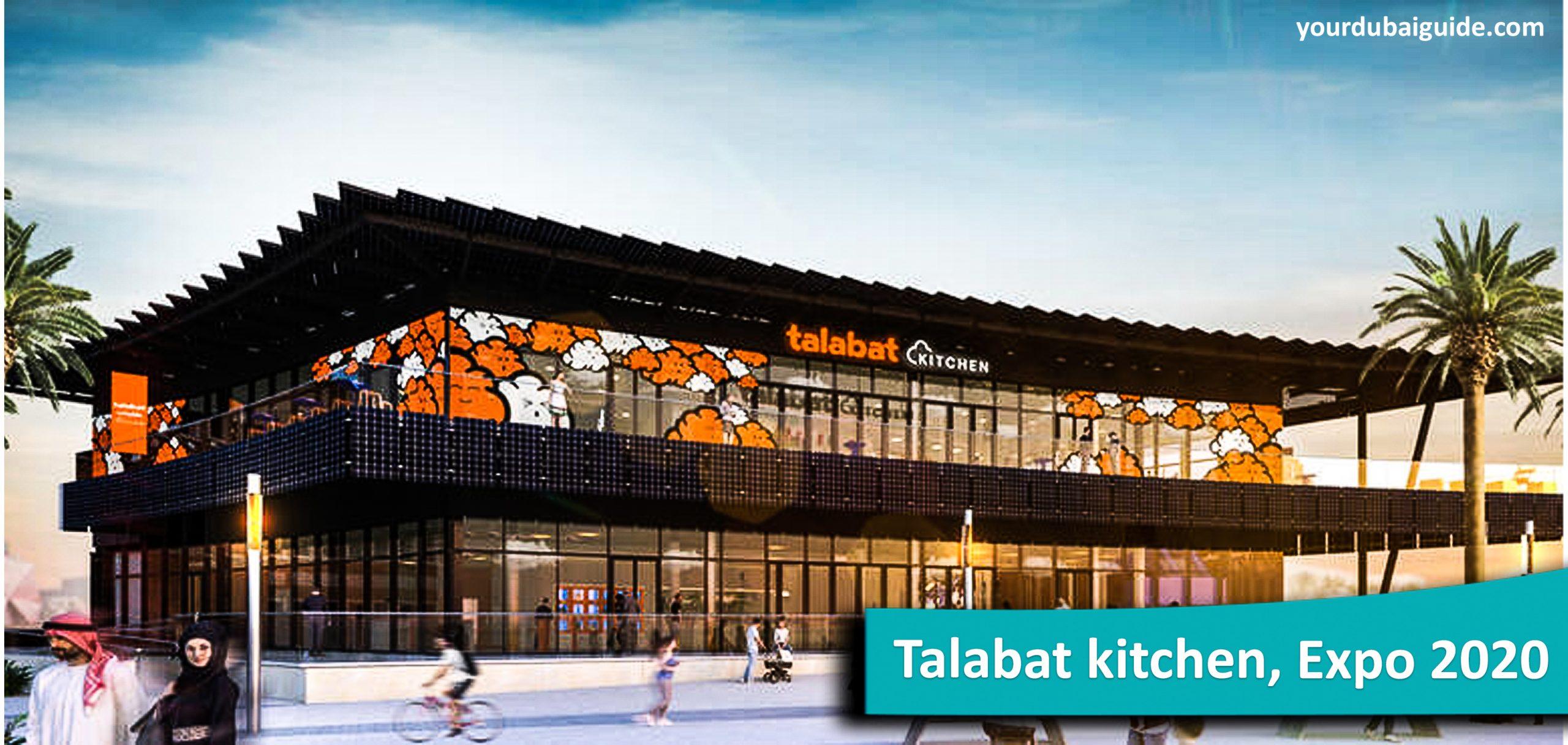 Talabat kitchen at Expo 2020, Dubai