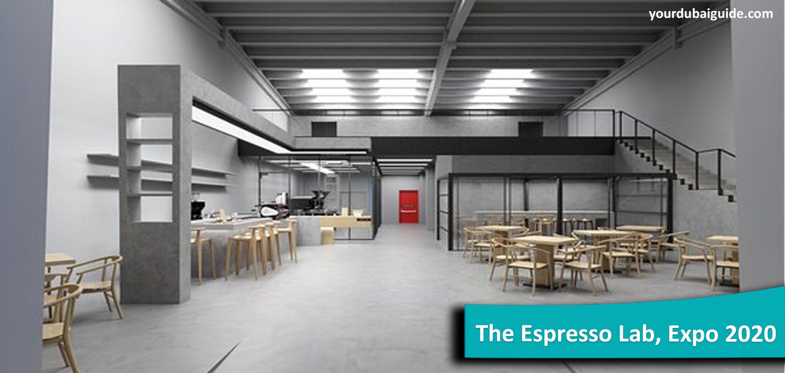 The Espresso Lab at Expo 2020, Dubai