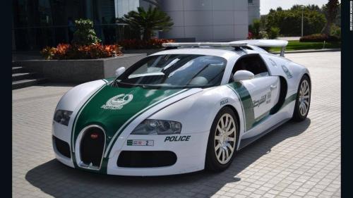 Dubai Police Super Cars - Bugatti Veyron