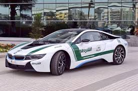 BMW i8 Dubai Police Car looking sharp