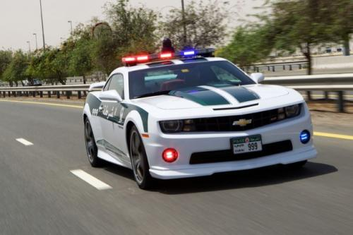 Chevrolet Camaro SS Dubai Police