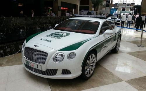 Dubai Police Bentley Continental GT