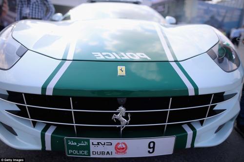 Dubai Police Cars - Ferrari