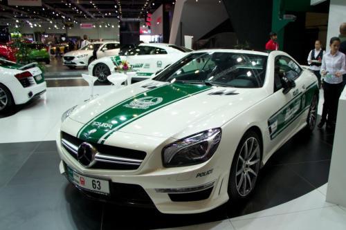 Dubai Police Mercedes-Benz SL63 AMG