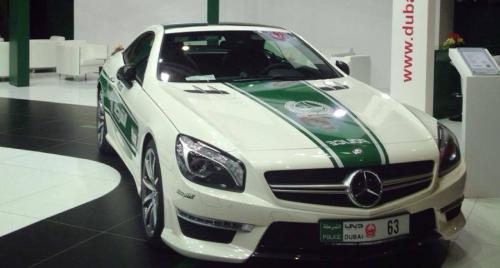 Dubai Police Mercedes-Benz SL63 AMG2