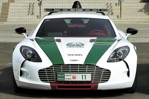 Dubai Police cars - Aston Martin One-77