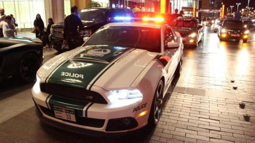 Ford Mustang Roush Dubai Police