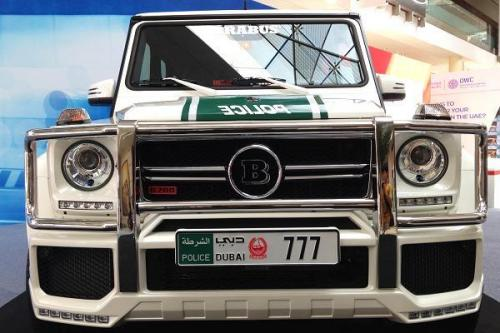 Mercedes-Benz G Wagon Brabus Dubai Police1