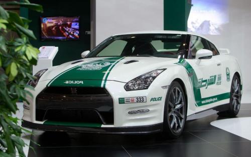 Nissan GTR Dubai Police