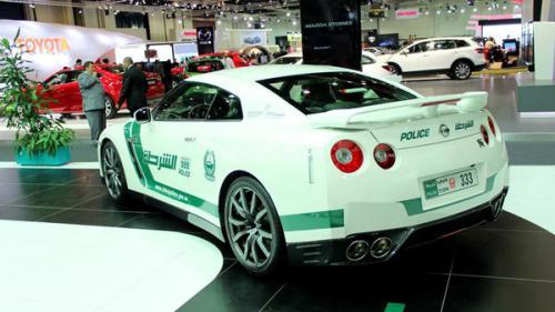 Nissan GTR Dubai Police 2